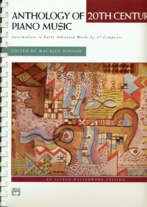 Anthology of 20th Century Piano Music